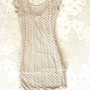 Free People Crochet Dress